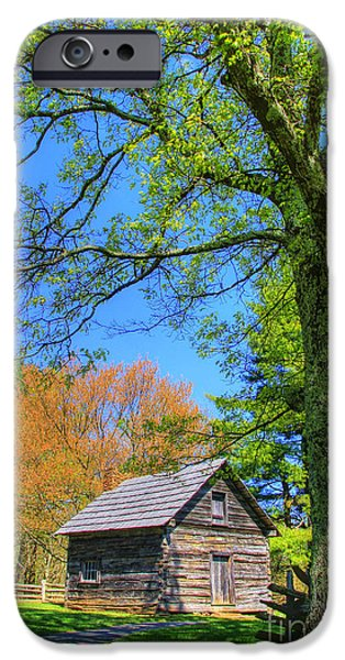 Puckett's Cabin iPhone Case by Paul Johnson