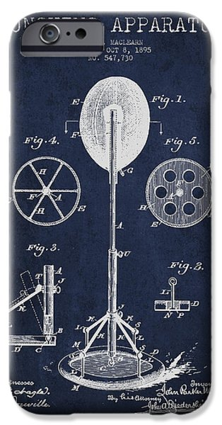 Punching Apparatus Patent Drawing from1895 iPhone Case by Aged Pixel