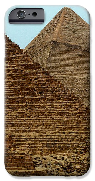 Pyramids At Giza iPhone Case by Bob Christopher