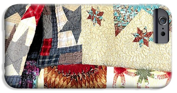 Quilts For Sale iPhone Cases - Quilts for Sale iPhone Case by Janette Boyd