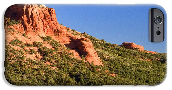Red Rock iPhone Cases - Red Rock Formation Sedona Arizona 27 iPhone Case by Douglas Barnett