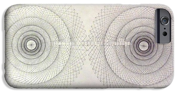 Savant iPhone Cases - Relativity iPhone Case by Jason Padgett