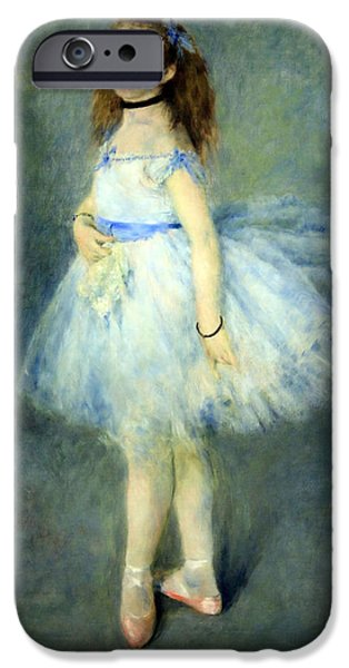 Cora Wandel iPhone Cases - Renoirs The Dancer iPhone Case by Cora Wandel