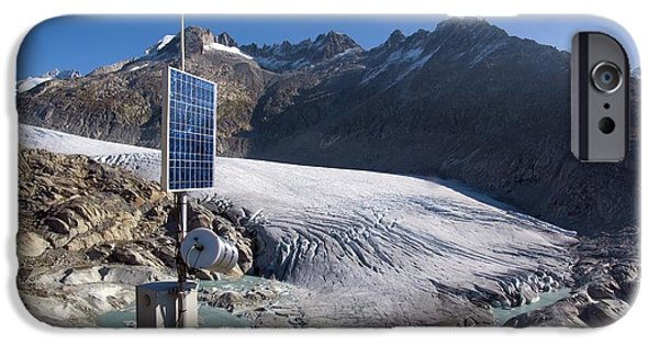 2000s iPhone Cases - Rhone Glacier, Switzerland iPhone Case by Dr Juerg Alean