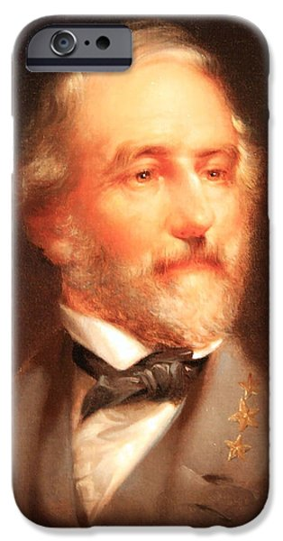 Cora Wandel iPhone Cases - Robert E. Lee Was A Son Who Made Virginia Proud iPhone Case by Cora Wandel