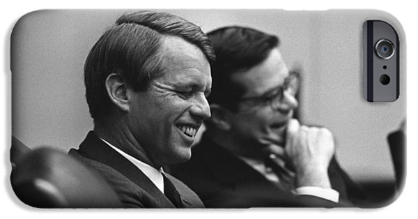 Assassinated iPhone Cases - Robert Kennedy iPhone Case by War Is Hell Store