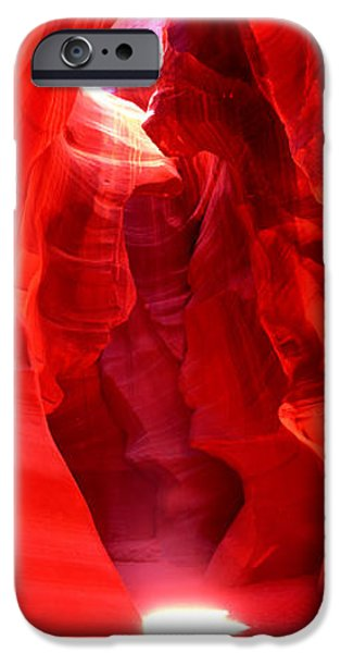 Lake Powell iPhone Cases - Rock Formations In A Canyon, Antelope iPhone Case by Panoramic Images