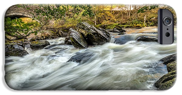 Waterscape iPhone Cases - Rocky River iPhone Case by Adrian Evans