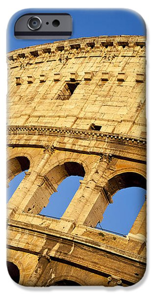 Roman Coliseum iPhone Case by Brian Jannsen