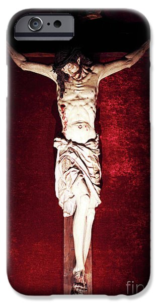 Son Of God Photographs iPhone Cases - Sacrifice iPhone Case by John Rizzuto
