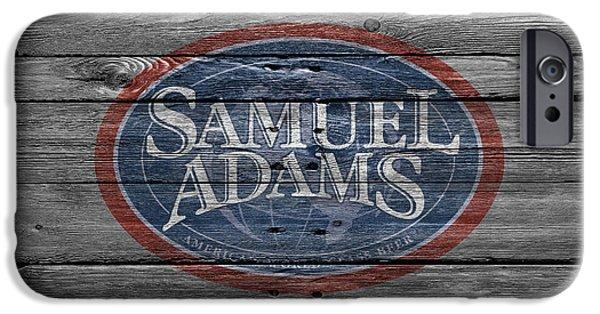 Draft iPhone Cases - Samuel Adams iPhone Case by Joe Hamilton