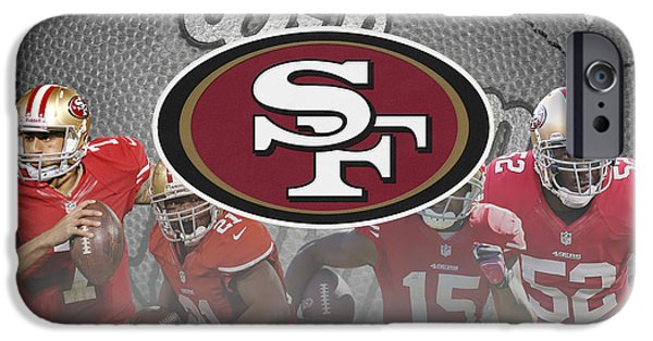 Gore iPhone Cases - San Francisco 49ers iPhone Case by Joe Hamilton