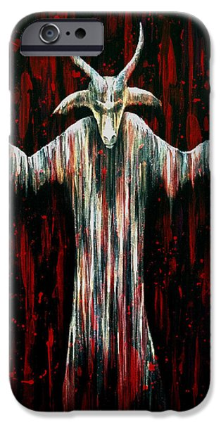 Lucifer iPhone Cases - Savior iPhone Case by Steve Hartwell
