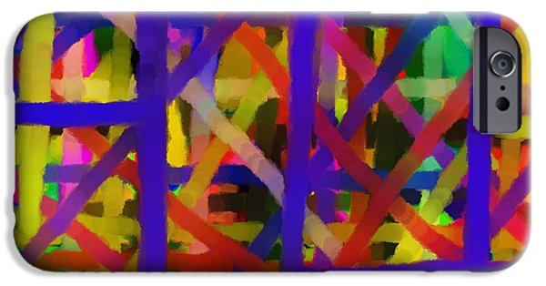 Abstract Digital Drawings iPhone Cases - Schreien iPhone Case by Sir Josef  Putsche Social Critic