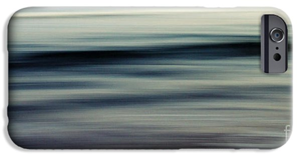 Abstract Digital Photographs iPhone Cases - Sea iPhone Case by Stylianos Kleanthous