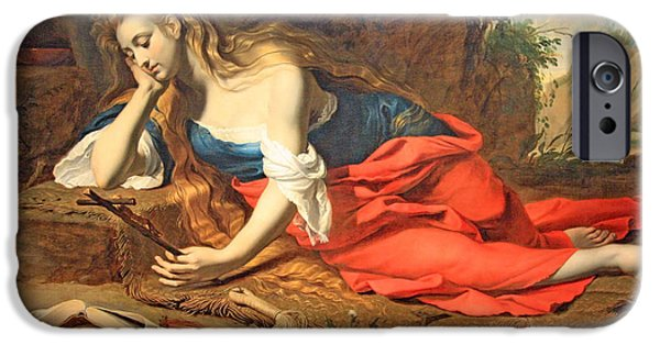 Cora Wandel iPhone Cases - Seghers The Repentant Magdalen iPhone Case by Cora Wandel