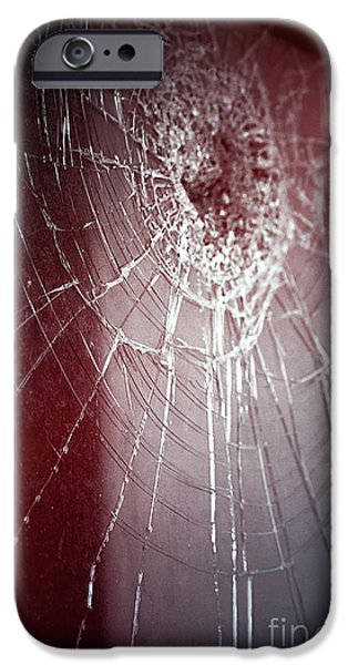 Afraid iPhone Cases - Shattered Dreams iPhone Case by Trish Mistric