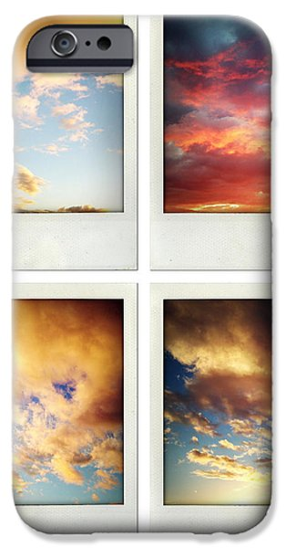 Skies iPhone Case by Les Cunliffe