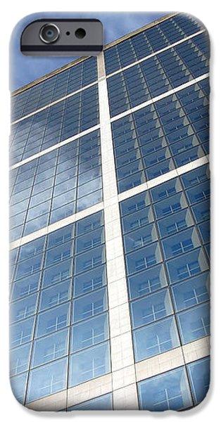 Skyscraper iPhone Case by Michal Bednarek