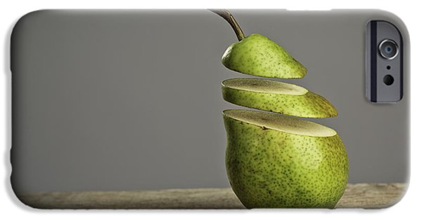 Strange iPhone Cases - Sliced iPhone Case by Nailia Schwarz