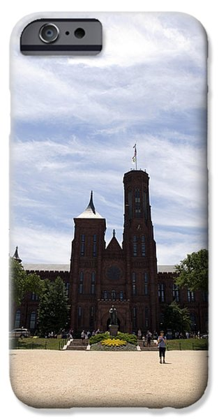 Smithsonian iPhone Cases - Smithsonian Institute iPhone Case by Karen Cowled