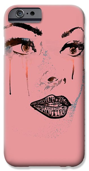 Well-known iPhone Cases - Sofia Loren iPhone Case by Pop Culture Prophet