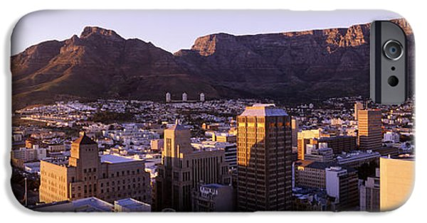 Cape Town iPhone Cases - South Africa, Cape Town And Table iPhone Case by Panoramic Images