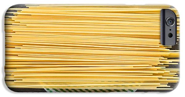 Spaghetti iPhone Cases - Spaghetti  iPhone Case by Tom Gowanlock