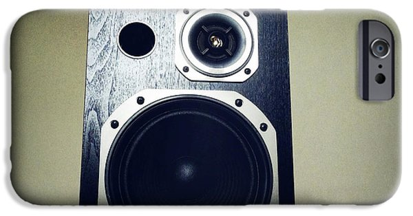 Broadcast iPhone Cases - Speaker iPhone Case by Les Cunliffe