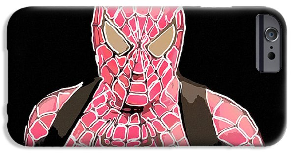 Animation iPhone Cases - Spiderman iPhone Case by Toppart Sweden