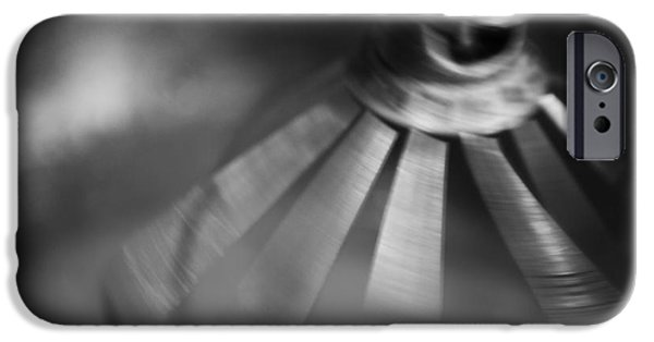 Beaters iPhone Cases - Spinning Mixer iPhone Case by Iris Richardson