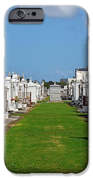 St Louis Cemetery No 3 New Orleans iPhone Case by Christine Till