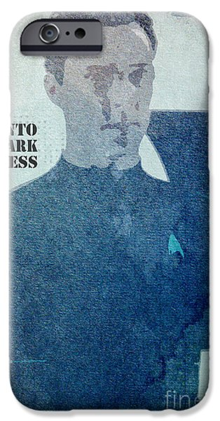 Enterprise Mixed Media iPhone Cases - Star Trek Into Darkness Khan iPhone Case by Pablo Franchi