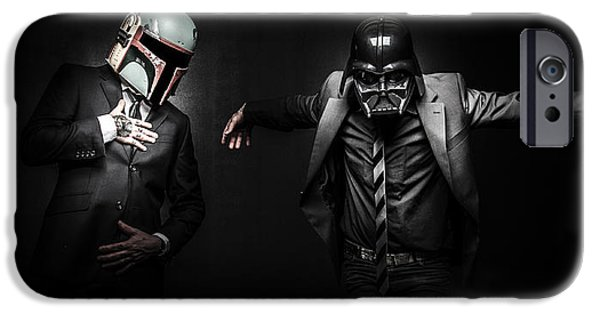 War iPhone Cases - Starwars suitup iPhone Case by Marino Flovent