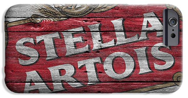 Crate iPhone Cases - Stella Artois iPhone Case by Joe Hamilton