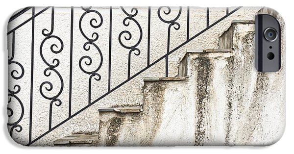 Downtown Stairs iPhone Cases - Steps iPhone Case by Tom Gowanlock