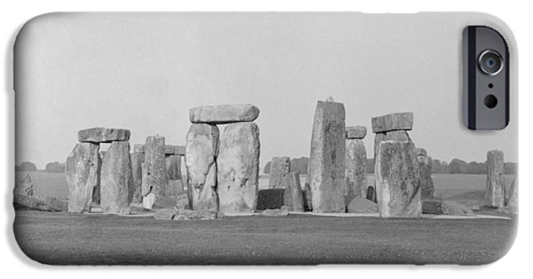 Monolith iPhone Cases - Stonehenge iPhone Case by Anonymous