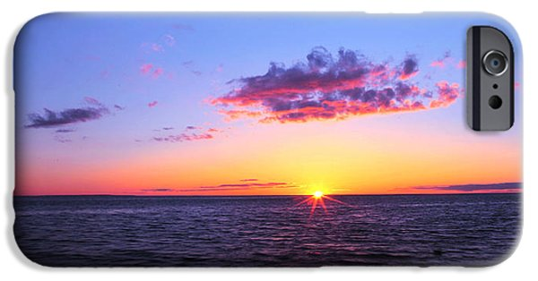 Boston Ma iPhone Cases - Sunset In Cape Cod Boston Massachusetts iPhone Case by Paul Ge