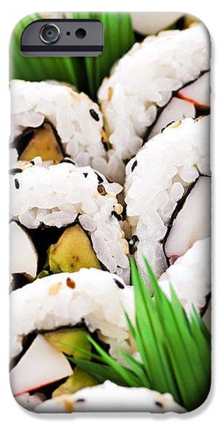 Sushi platter iPhone Case by Elena Elisseeva