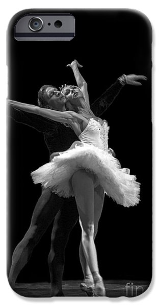 Swan Lake  White Adagio  Russia 3 iPhone Case by Clare Bambers