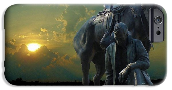 Horse iPhone Cases - Thanks for the Rain  iPhone Case by Janette Boyd
