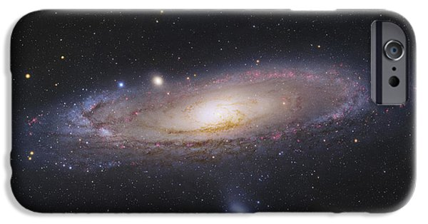 Constellations iPhone Cases - The Andromeda Galaxy iPhone Case by Robert Gendler