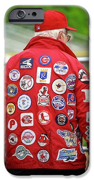 The Baseball Fan iPhone Case by Frank Romeo