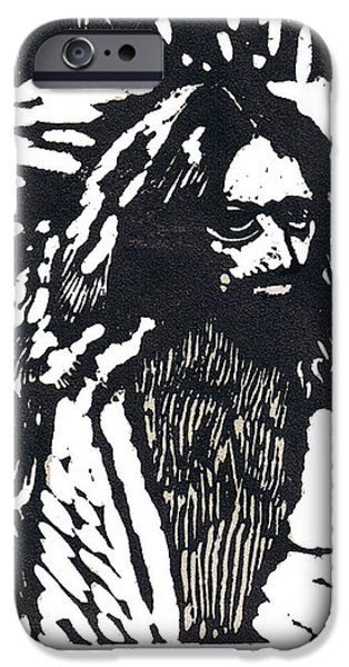 Son Of God Drawings iPhone Cases - The Blessing iPhone Case by Seth Weaver