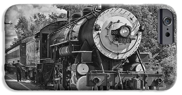 Caboose Photographs iPhone Cases - The Brakeman iPhone Case by Robert Frederick