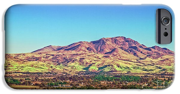 Silk Water iPhone Cases - The Butte iPhone Case by Robert Bales