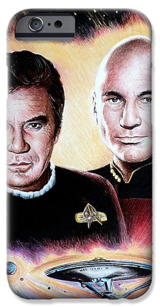 The Captains   iPhone Case by Andrew Read
