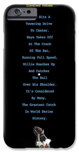 Baseball Glove iPhone Cases - The Catch iPhone Case by Ron Regalado