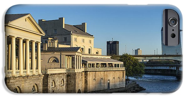 Interpretive iPhone Cases - The Fairmount Water Works iPhone Case by John Greim