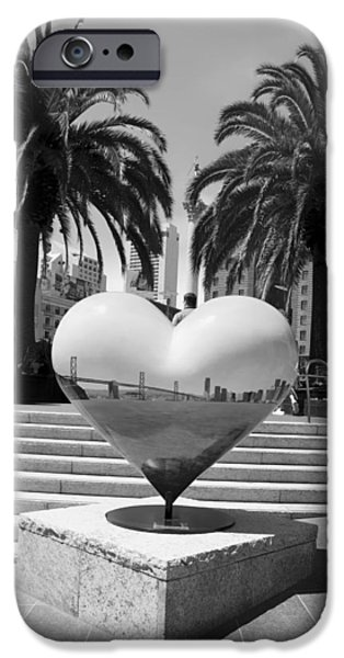 Union Square iPhone Cases - The Heart of San Francisco iPhone Case by Mountain Dreams